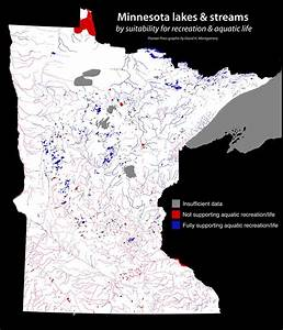 U00bb Minnesota U2019s Polluted And Clean Waters  Mapped