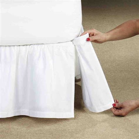 adjustable bed skirt king decor ideas