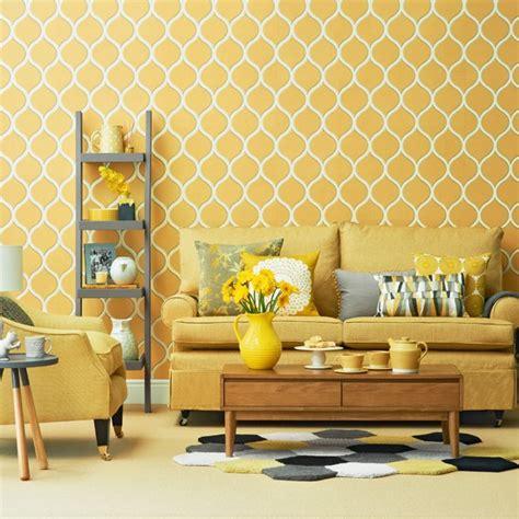 yellow walls living room interior decor bright yellow living room housetohome co uk