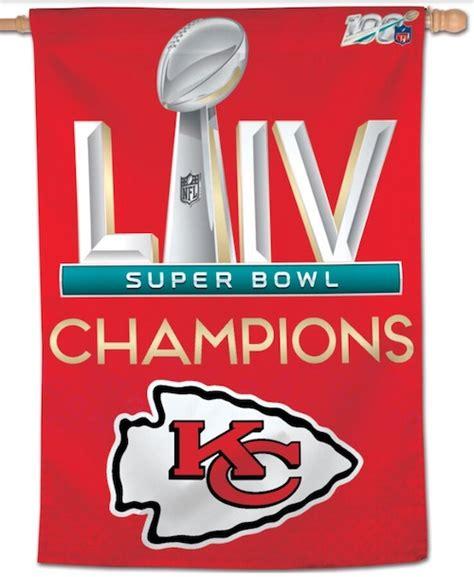 Kansas City Chiefs Super Bowl Champions Gear Autographs