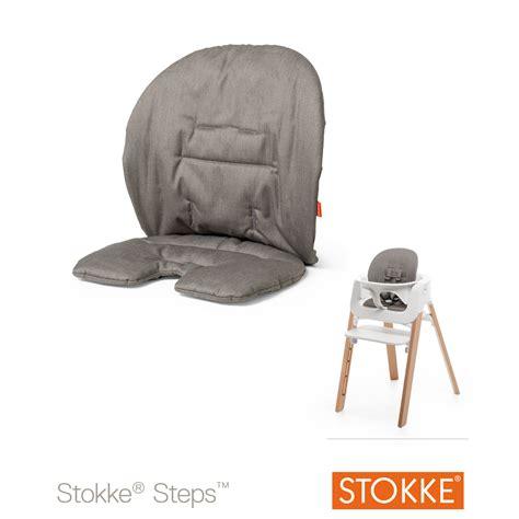 chaise steps stokke coussin steps greige de stokke coussins de chaise aubert
