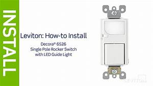 Leviton Presents  How To Install An Led Guidelight With