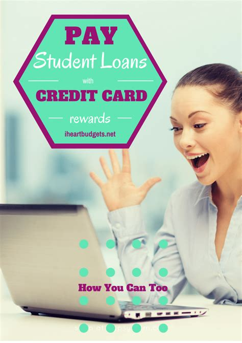 Use the debt snowball method. Paying Off Student Loans With Credit Card Rewards