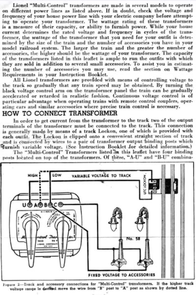 Lionel Transformer Type R Wiring Diagram by Diode Conversion For Lionel 1033 O Railroading On