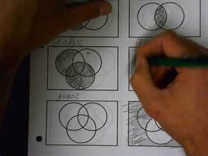 Shading Venn Diagrams  Three Circles