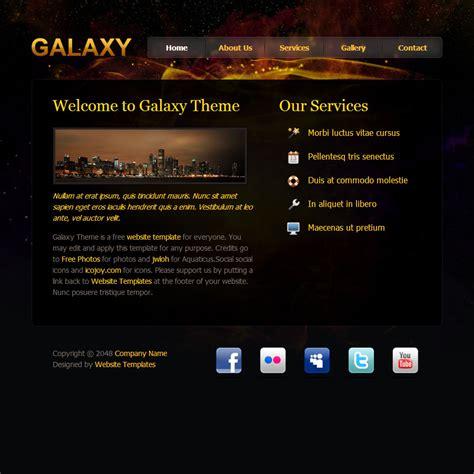 Galaxy Design Free Templates