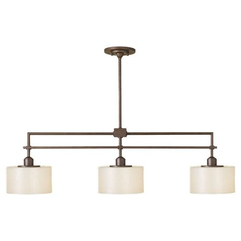 kitchen island chandeliers feiss sunset drive 3 light corinthian bronze island light
