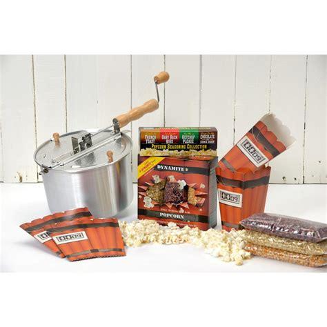 popcorn pop whirley stovetop popper aluminum qt seasoning save piece