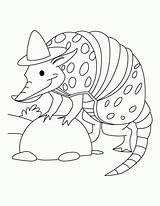 Coloring Spy Pages Armadillo Rodeo Printable Cartoon Aardvark Sloth Sheets Clown Gear Animals Bestcoloringpages Getcolorings Template Animal Wild Adults Popular sketch template