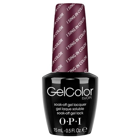 i sing in color opi opi gelcolor i sing in color gwen stefani collection