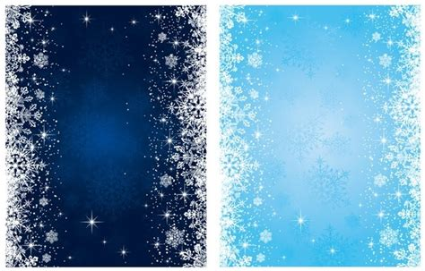 blue snowflake background free vector 53 593