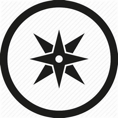 Compass Icon Icons Map Symbol Arrow Svg