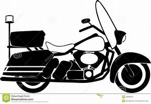 Motorcycle clipart police motorcycle - Pencil and in color ...