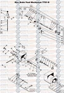 Ammco 4000 Brake Lathe Parts Diagram