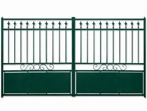 Portail Alu Battant 3m50 : portail battant aluminium toulouse ~ Dailycaller-alerts.com Idées de Décoration