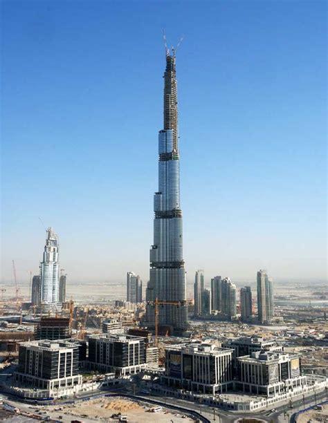 Burj Khalifa Skyscraper Dubai Tower E Architect