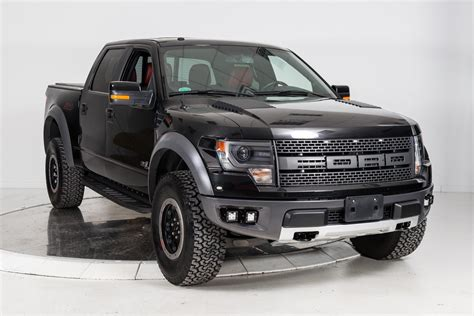 Used 2014 FORD F 150 SVT RAPTOR in Black for Sale