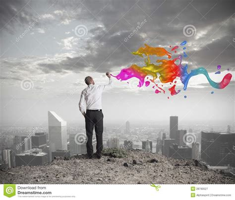 Creative Business Stock Image Image Of Effect, Color