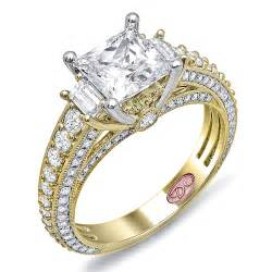 jewelers princess cut engagement rings yellow gold princess cut engagement rings wonderful diamonds ipunya