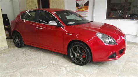 alfa romeo giulietta  tb cv limited rosso