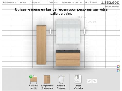 ikea outil de conception cuisine planificateur salle de bain ikea