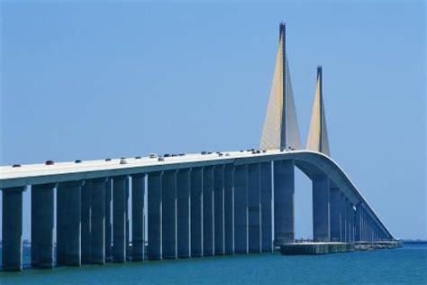 The Sunshine Skyway Bridge Spanning Tampa Bay
