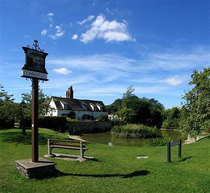 Village Comberton Cambridgeshire Commons Kinks Society Landscape
