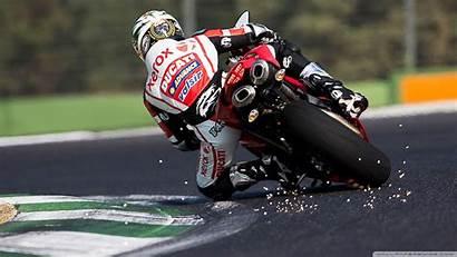 Superbike Wallpapers Racing Desktop Motorcycle Ducati Phone