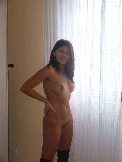 Sexy Amateur Latina Wife Having Some Fun