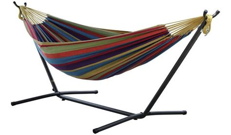 Hammock Argos by Buy Vivere Cotton Hammock With Stand Tropical