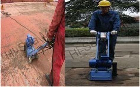 marine deck scaler supplier china descaling machine