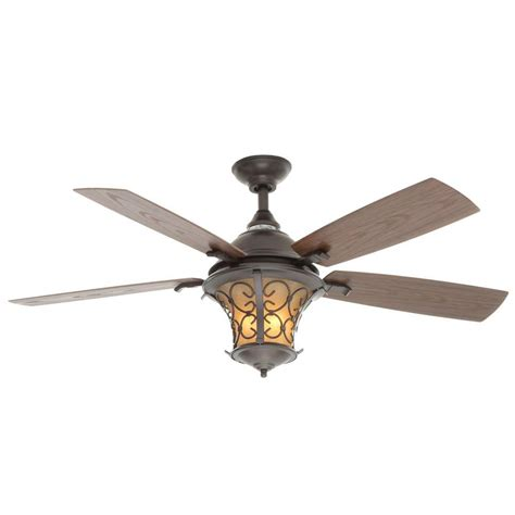 outdoor ceiling fans with remote control hton bay veranda ii 52 in indoor outdoor natural iron