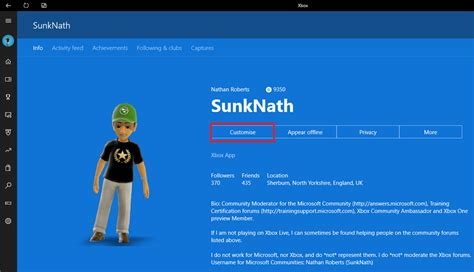 Changing Your Profile Picture In The Xbox App Technology