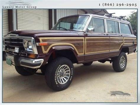 wood panel jeep jeep grand wagoneer wood panel