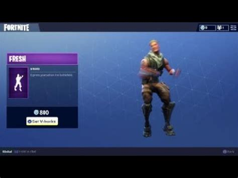 fresh emote  fortnite battle royale   carlton dance
