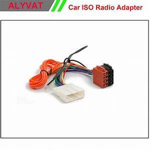 Car Iso Stereo Wiring Harness For Nissan 2007 Onwards