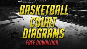 20 Basketball Court Diagrams  Free Download