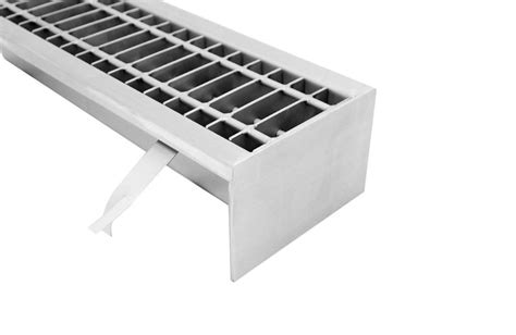 stainless steel industrial floor drains with grate s140 s500