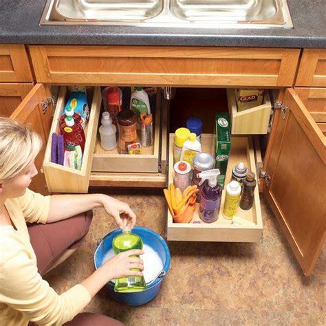 pull out kitchen storage ideas how to build kitchen sink storage trays home design