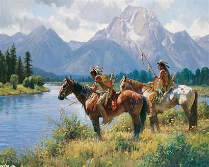 American Native Martin Desktop Grelle Painting Gallery4collectors