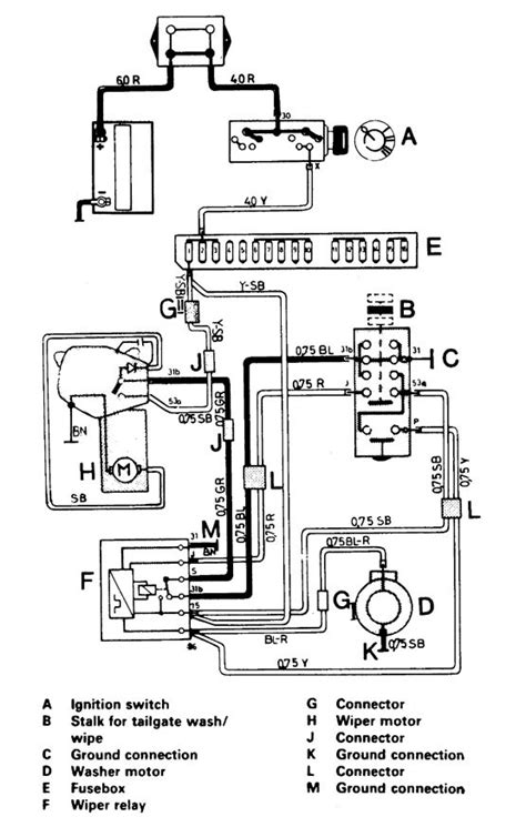 volvo 244 1987 wiring diagrams starting carknowledge