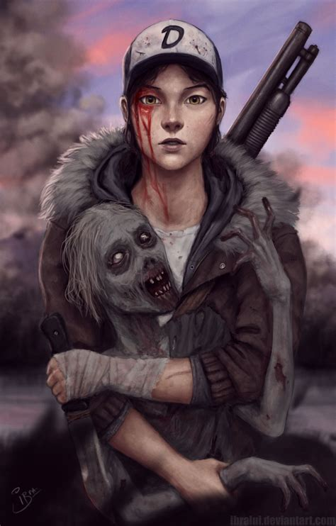 Lilacsbloom Grown Up Clementine By Ibralui The Walking