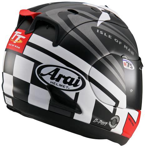 arai reveals 2014 rx 7 gp iom tt helmet visordown