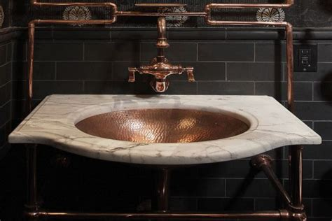 andre rothblatt architecture creates steampunk bathroom