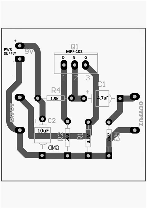 Diy Contact Mic Circuit Electronic Projects