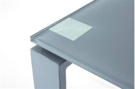 bureau acier bureau acier et verre gris 160cm etokia design sur sofactory