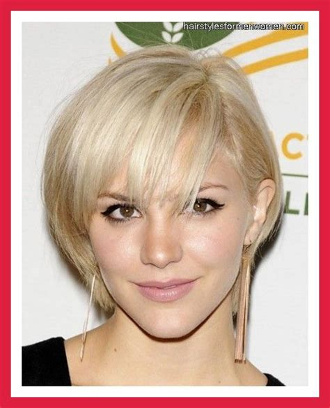 short hairstyles for fine hair oval face short hair