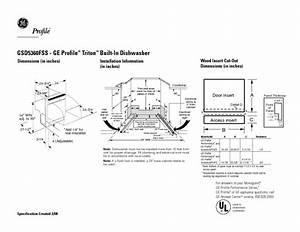 Ge Dishwasher Manual Gsd 600 Degree