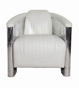 Fauteuil Cuir Blanc : fauteuil club dc3 en cuir beige ~ Melissatoandfro.com Idées de Décoration