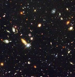 Hubble Space Telescope Deep Field Images